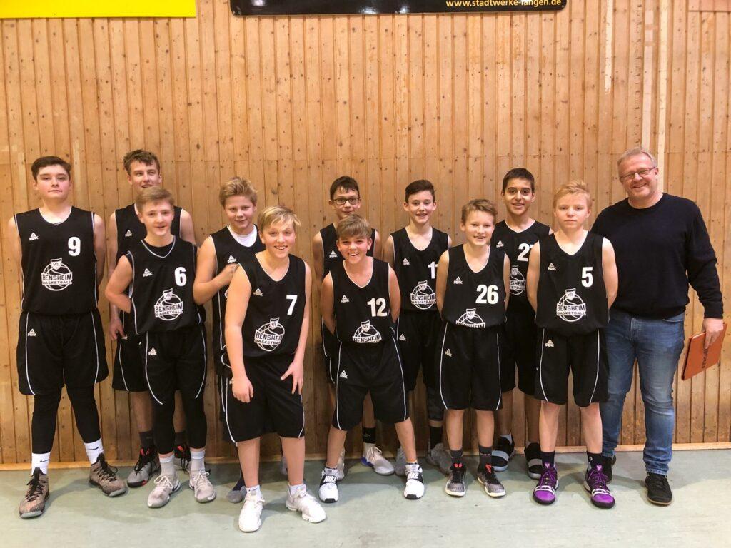 U14-Oberligateam mit dem vierten Sieg
